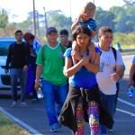 Migrantes de nueva caravana no esperarán por visas transitorias - Foto de Notimex