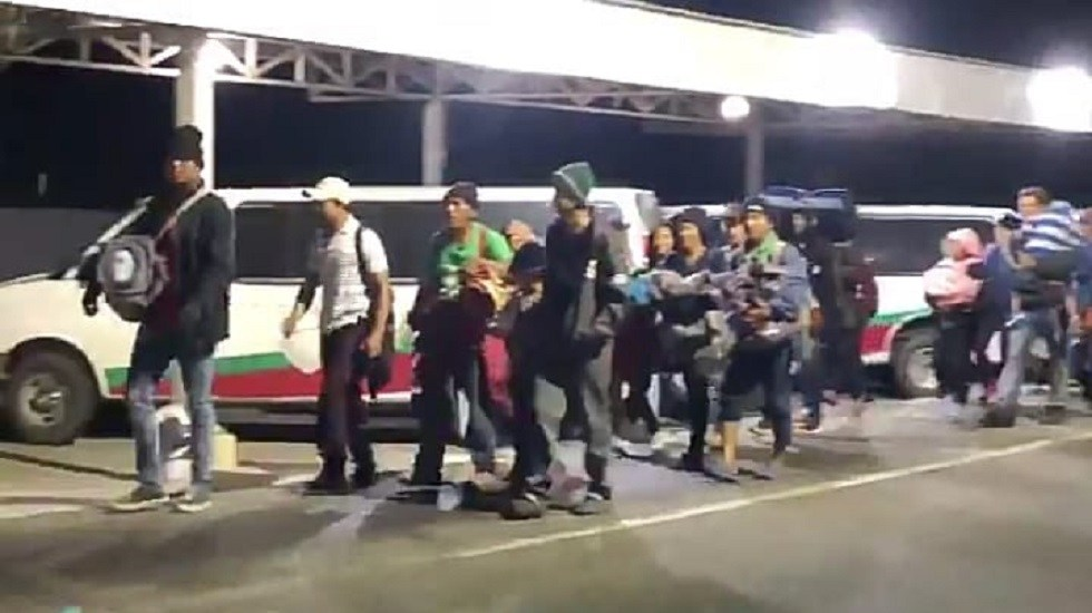 Centroamericanos siguen camino hacia EE.UU. - Migrantes centroamericanos. Foto de Internet