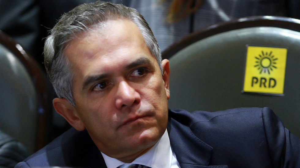 """Niega Mancera que se hayan """"maquillado"""" cifras sobre incidencia delictiva en la capital - Foto de Notimex"""