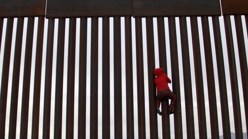 Trump declarará emergencia en frontera para fondos sobre el muro - Frontera entre México y Estados Unidos. Foto de AFP / Herika Martinez