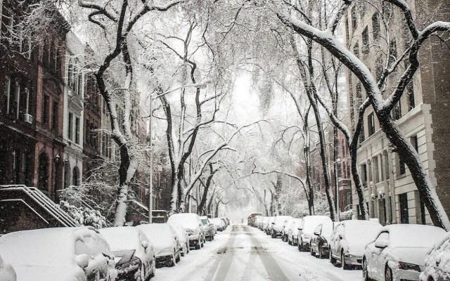 Chicago está en alerta por temperaturas de hasta -45 grados - Nevada en Chicago. Foto de Twitter