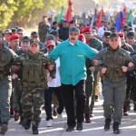 """Trump advierte a militares venezolanos que """"lo perderán todo"""" si apoyan Maduro - Foto de @NicolasMaduro"""