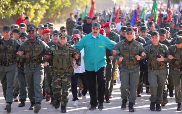 Ayuda humanitaria medirá la fidelidad de los militares con Maduro - Foto de @NicolasMaduro