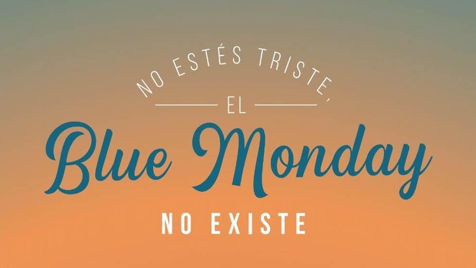 No existe el Blue Monday. Foto de Internet