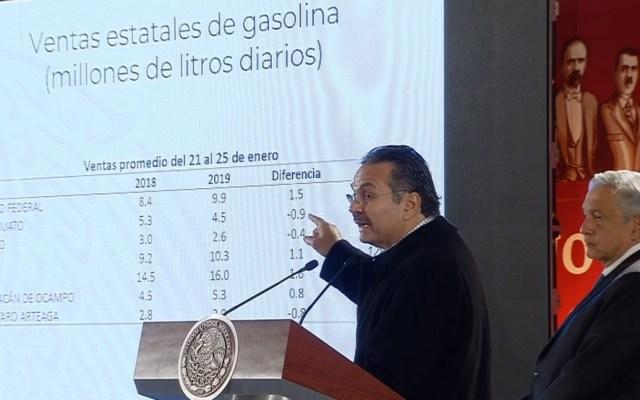 Abasto de gasolina se normalizará la próxima semana: Pemex - Octavio Oropeza, director de Pemex. Captura de pantalla