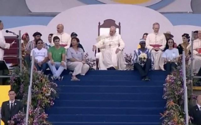 El segundo día de Francisco en Panamá en tres momentos - Foto de captura de pantalla