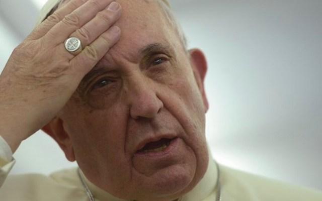 El papa Francisco acepta equivocación en declaración sobre feminismo - Foto de Twitter