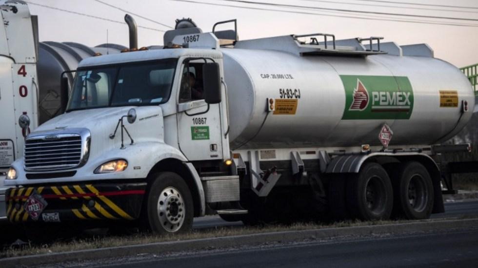 Llega gasolina a terminal de Azcapotzalco para surtir a capitalinos - Foto de AFP