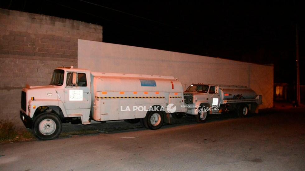 Roban pipas con combustible en Chihuahua - Foto de @LaPolaka