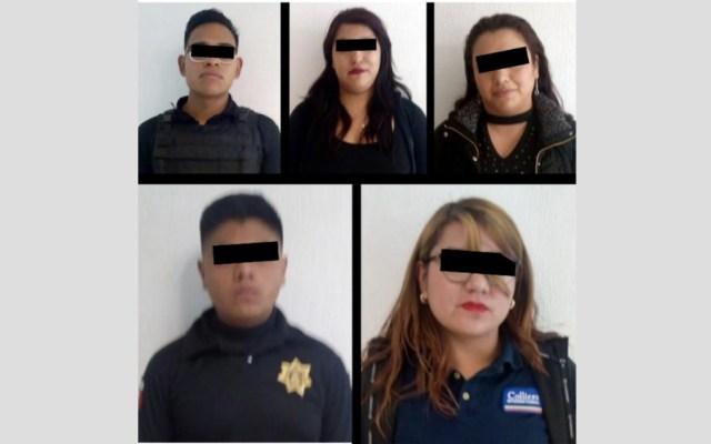 Caen cinco secuestradores y extorsionadores; hay dos integrantes del Cusaem - Foto de @SS_Edomex