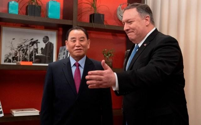 Pompeo se reúne con funcionario norcoreano para encuentro Trump-Jong-un - Foto de AFP