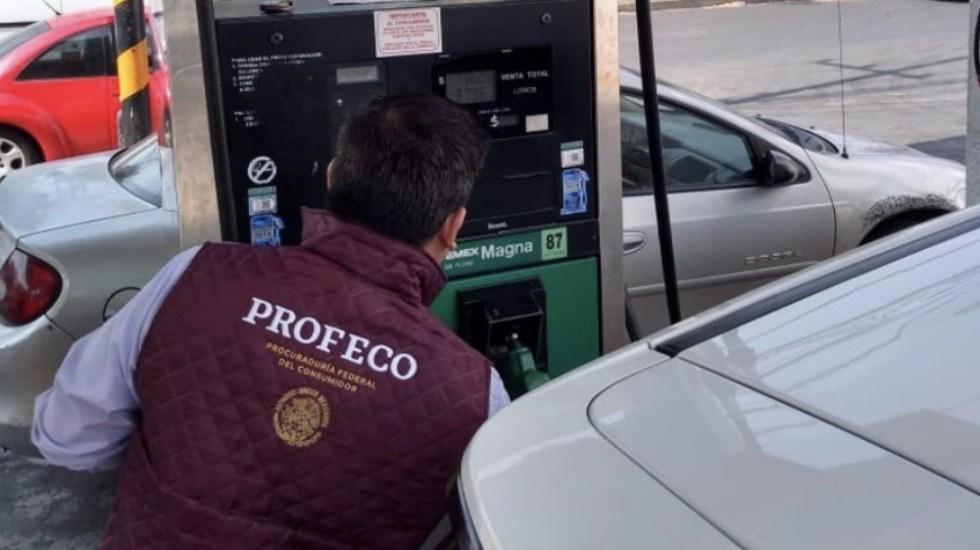 Profeco atiende 422 denuncias relacionadas con gasolina - Foto de @Profeco
