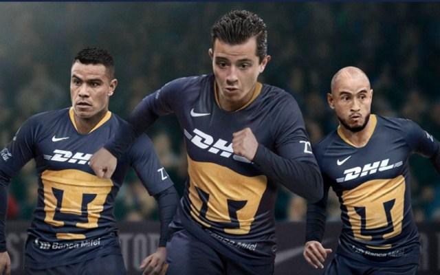 Pumas presenta tercer uniforme para el Clausura 2019 - Foto de @PumasMX