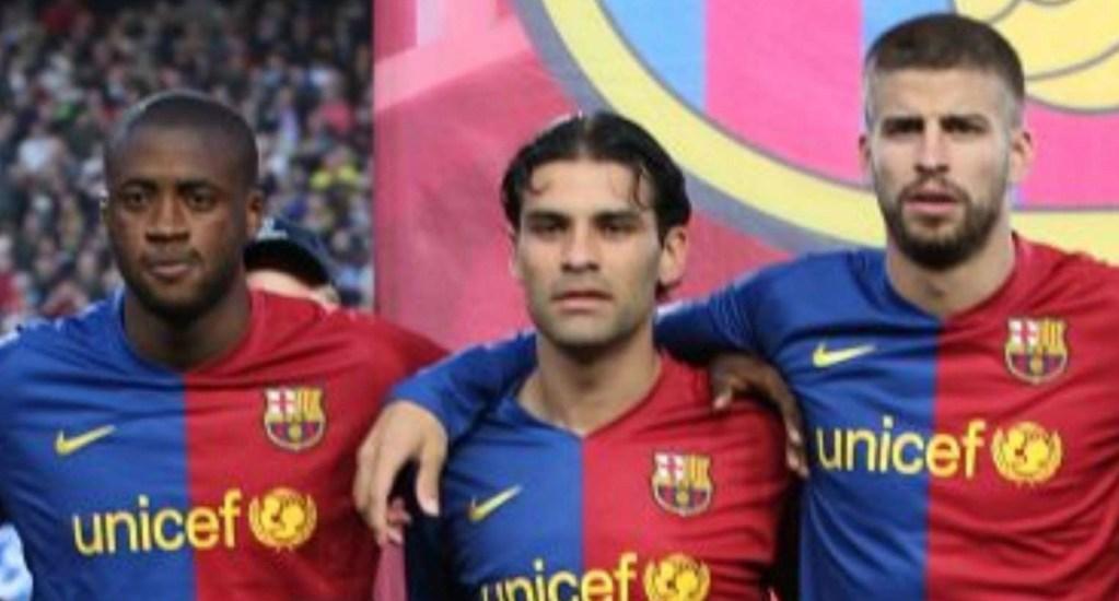 Rafael Márquez era 10 veces mejor que Gerard Piqué: Yaya Touré - Foto de Internet
