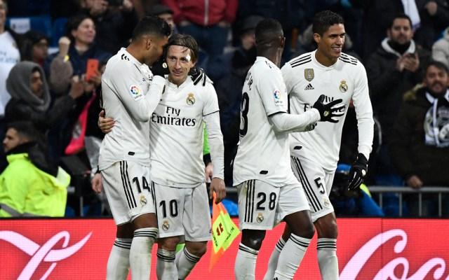 Real Madrid vence al Sevilla con goles de Casemiro y Modric - Foto de AFP