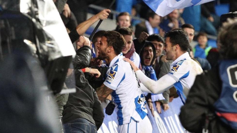 Con Héctor Moreno como titular, Real Sociedad venció a Espanyol - Foto de @RealSociedad