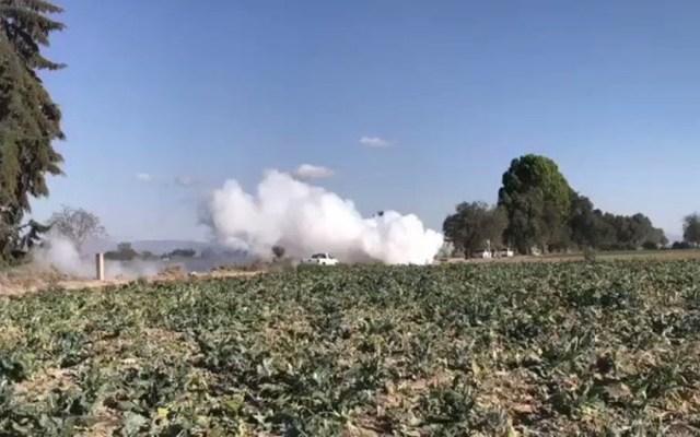 Reabren la autopista Puebla-Orizaba tras fuga de gas - reapertura autopista Puebla-Orizaba