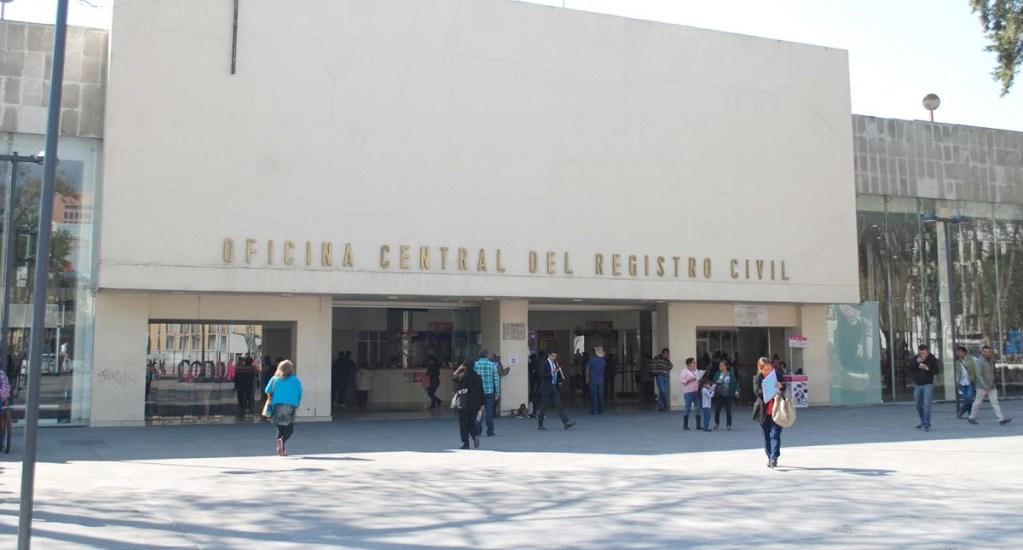 Tarifas de impuestos se elevan 5.2 por ciento en la Ciudad de México - Registro Civil de la CDMX. Foto de Internet