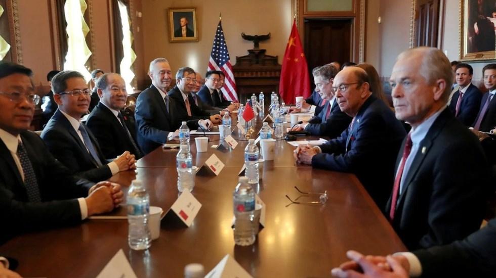 Trump se congratula por buenas negociaciones con China - Reunión entre representantes de China con los de EE.UU. Foto de @treasurecolecto