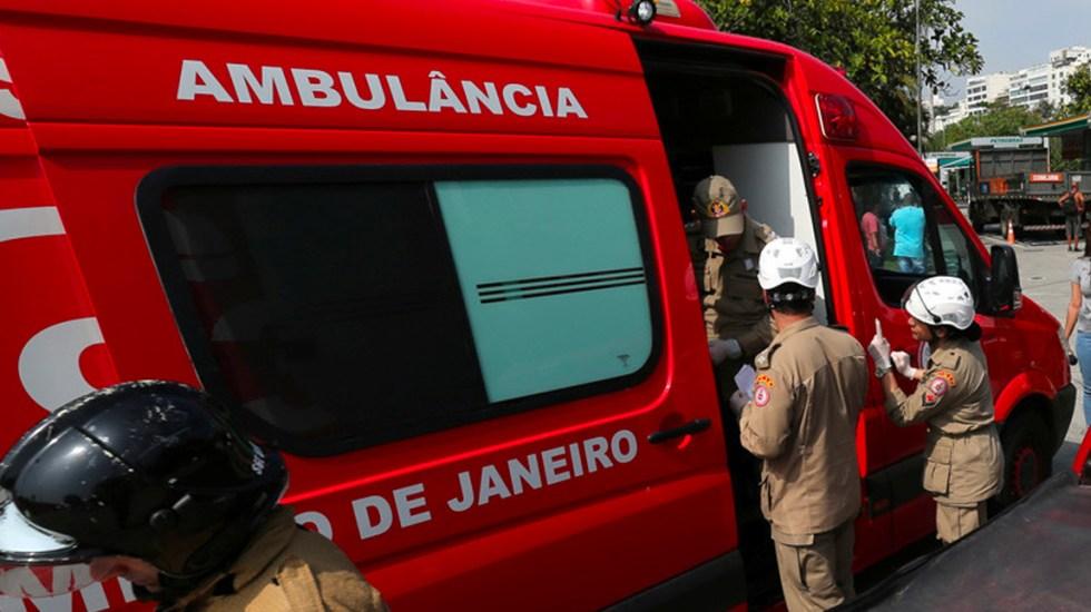 Cae helicóptero de la Policía Militar de Río de Janeiro, hay un muerto - Foto de Reuters