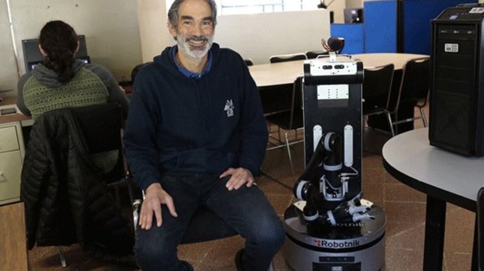 Desarrollan robot que puede encontrar objetos en casa - Foto de @inaoe_mx