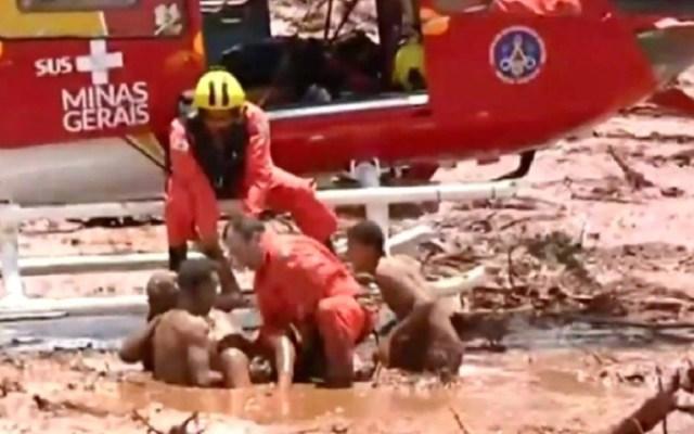 Ruptura de dique minero en Brasil deja varios muertos - rotura dique brasil muertos
