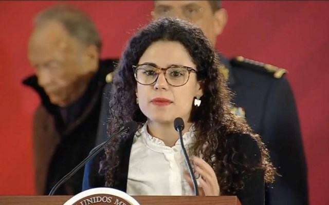 Inicia programa de empleo para jóvenes - Secretaria del Trabajo, Luisa María Alcalde. Captura de pantalla