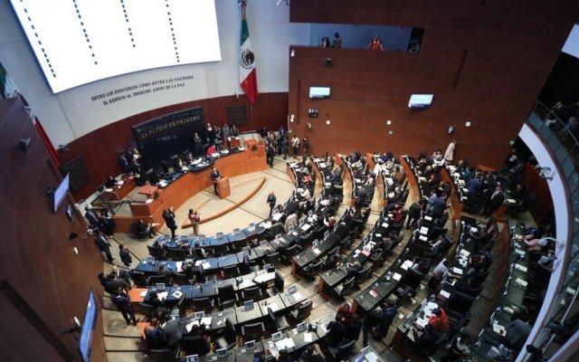 Comparecen en el Senado candidatos a fiscalía general - Foto de Twitter