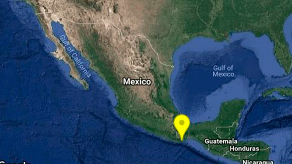 Sismo magnitud 4.8 remece Oaxaca - Foto de SSN.