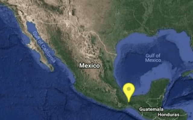 Sismo magnitud 4.8 en Oaxaca