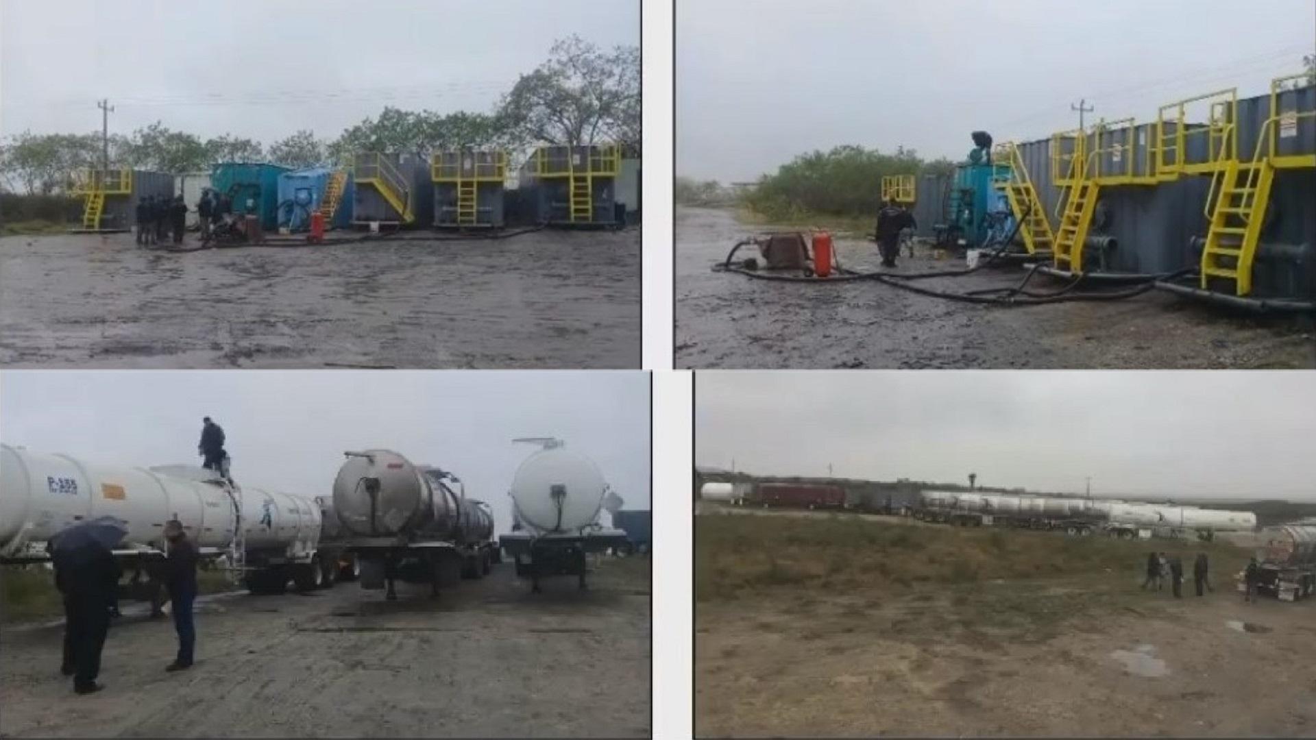 Sistema clandestino de distribución en carretera Monterrey-Reynosa. Captura de pantalla