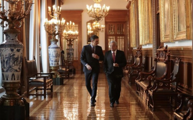 Gobierno de España se suma al Plan de Desarrollo Integral para Centroamérica - Foto de @GobiernoMX