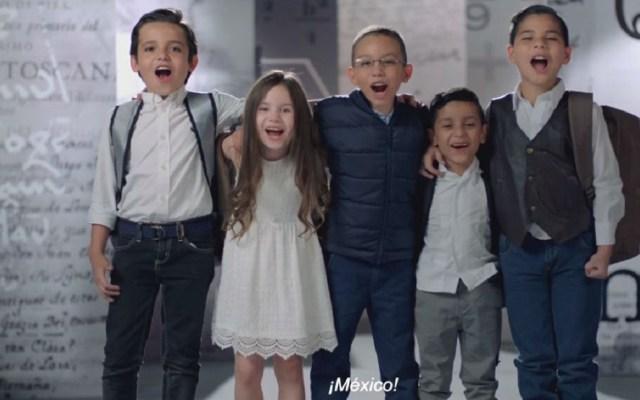Confirman multa a Mexicanos Primero por spot con niños - Spot de Mexicanos Primero. Captura de pantalla