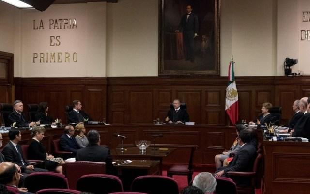AMLO celebra buena voluntad de ministros al bajarse el sueldo - Suprema Corte de Justicia. Foto de El Financiero