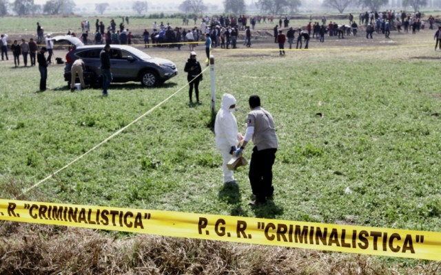 CNDH aún no determina responsabilidad de autoridades por caso Tlahuelilpan - Foto de Notimex