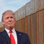"""Hasta mis """"haters"""" saben que el muro es necesario: Trump - Foto de Internet"""