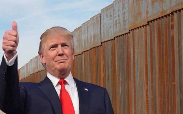 Conversaciones sobre muro son una pérdida de tiempo: Trump - Foto de Internet
