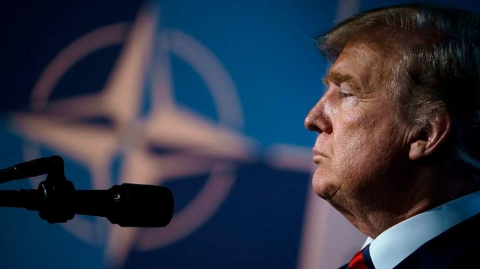 Envío de tropas a Venezuela es una opción: Trump - Foto de Brendan Smialowski / AFP