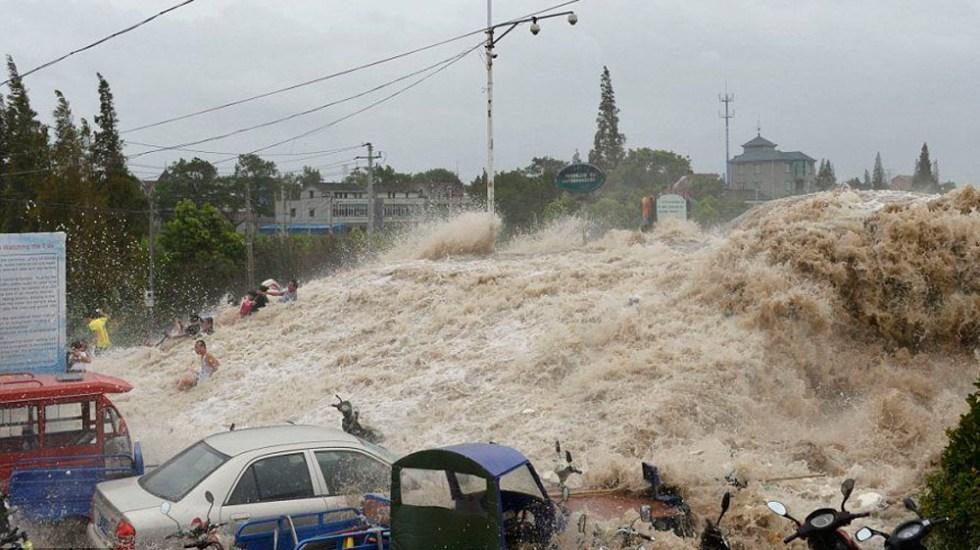 Científicos alertan sobre posible tsunami en China - Foto de internet