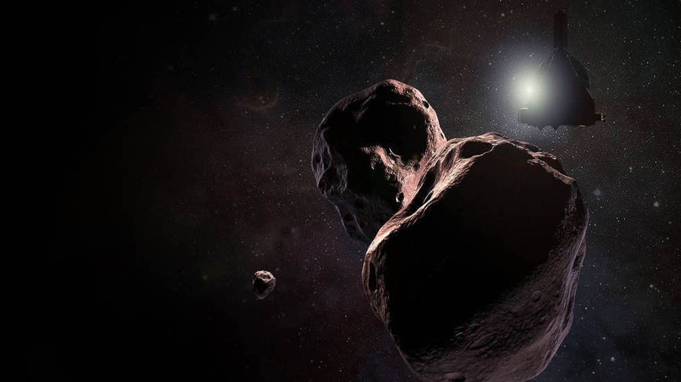 Sonda logra sobrevuelo del cuerpo celeste más lejano - Ultima Thule es el cuerpo celeste más lejano de la Tierra. Foto de NASA