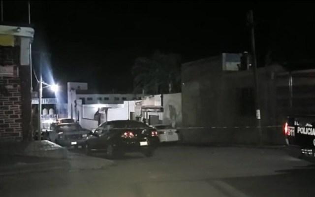Ejecutan a excandidato a la alcaldía de Tlaquiltenango, Morelos - Vehículo en el que circulaba el excandidato junto a dos hombres más. Foto de Central noticias