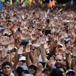 Uruguay y México urgen hallar solución pacífica para crisis en Venezuela - Federico Parra/AFP
