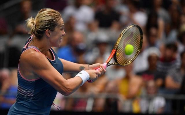 Anastasia Pavlyuchenkova en el abierto de tenis de Melbourne. - La rusa Anastasia Pavlyuchenkova en el abierto de tenis de Melbourne. Foto de AFP.