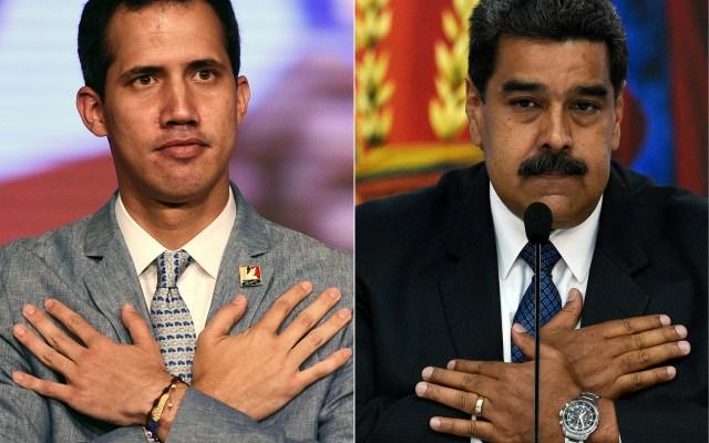 10 puntos rápidos para entender la situación actual en Venezuela - Juan Guaidó y Nicolás Maduro. Foto de AFP.