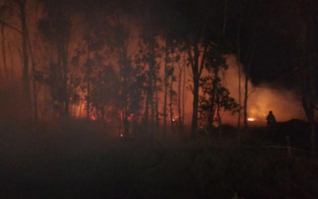 Atienden nuevos incendios en alcaldía de Xochimilco - Foto de @SGIRPC_CDMX