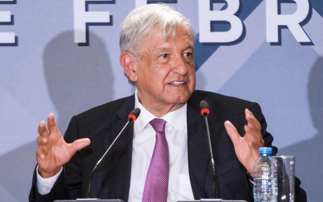 AMLO garantiza a empresarios actitud conciliadora del gobierno - López Obrador en la sesión de cambio de la presidencia del Consejo Mexicano de Negocios. Foto de Notimex