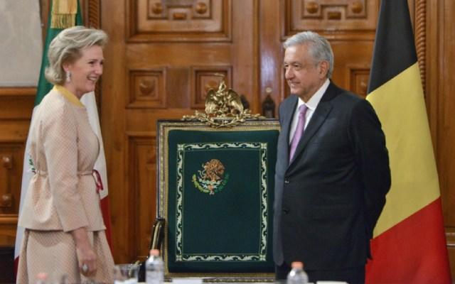 López Obrador recibe a la princesa Astrid de Bélgica - López Obrador recibe a la princesa Astrid de Bélgica