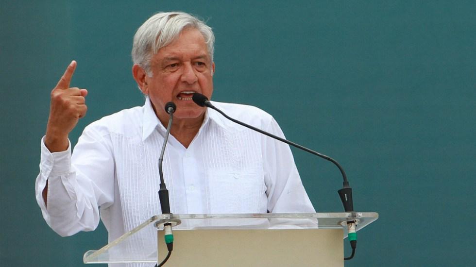 No acepto intimidación de nadie en combate a 'huachicol': López Obrador - Foto de Notimex