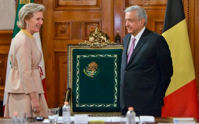 Recibe López Obrador a la princesa de Bélgica - Recibe López Obrador a la princesa de Bélgica