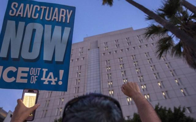 Los Ángeles se convierte en ciudad santuario para indocumentados - Aprueban a Los Ángeles como Ciudad Santuario. Foto de Getty Images